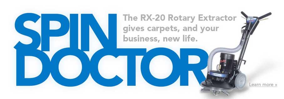 Phoenix Truckmounts RX20 Rotary Extractor
